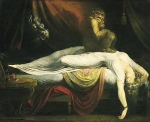 Spánková paralýza obrna