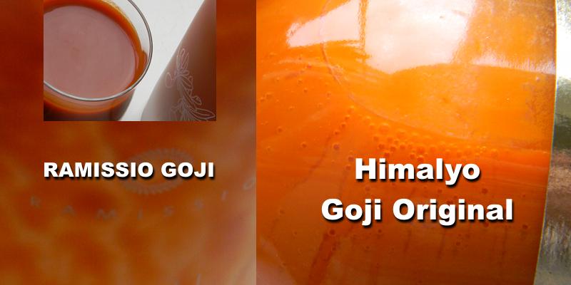 srovnání Ramissio Goji a Himalyo - hustota