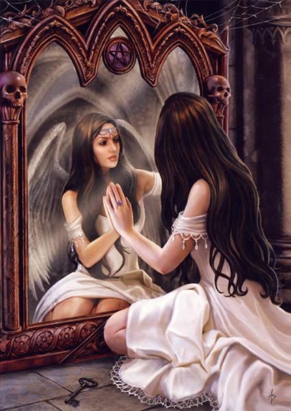 Anděl v zrcadle